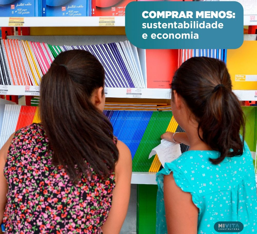 Consumir menos: economia e preservação do meio ambiente